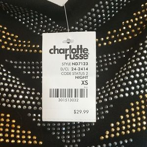 Charlotte Russe Dresses - Strapless high low dress (brand new) XS